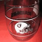 Vintage Los Angeles Raiders Drinking Glass