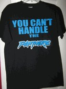NFL Carolina Panthers-You Cant Handle the Panters black t-shirt