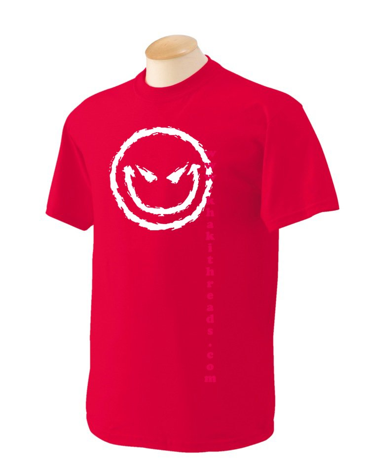evil smiley Geek T-Shirt