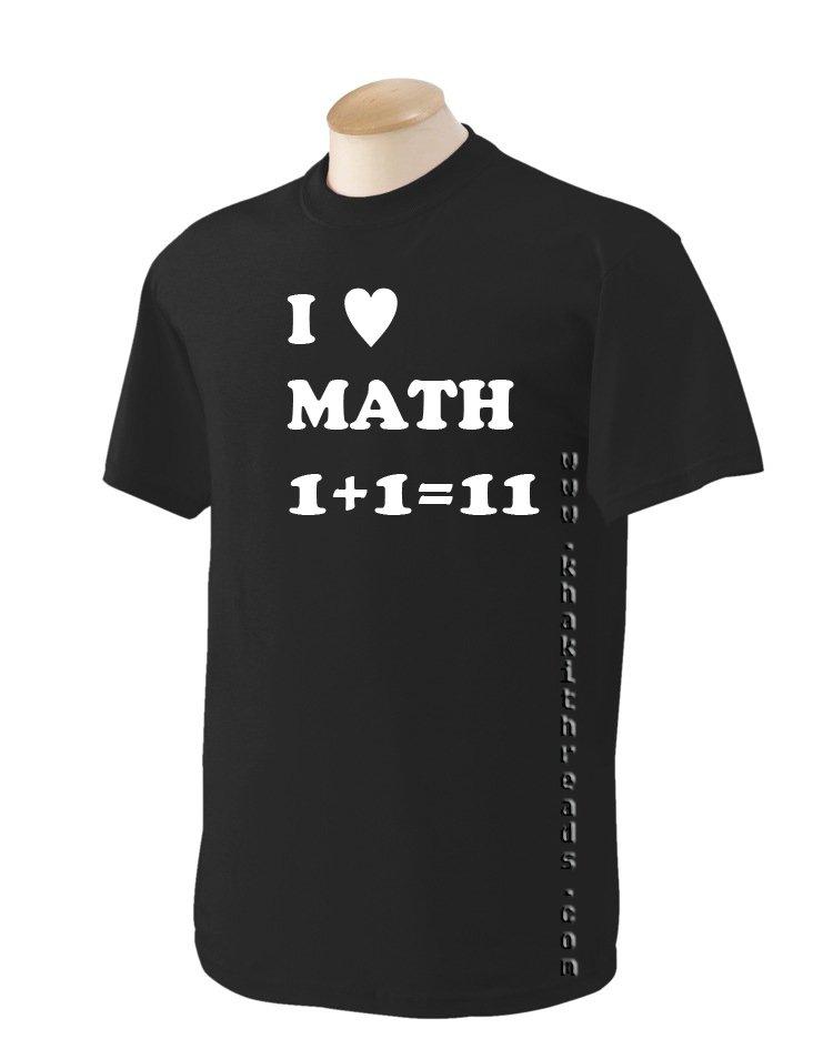 I LOVE MATH Geek T-Shirt
