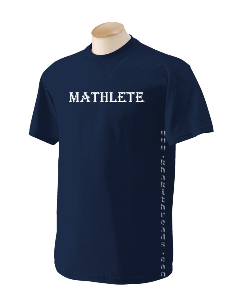 MATHLETE Geek T-Shirt