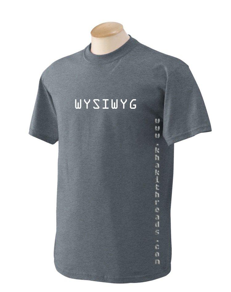 WYSIWYG Geek T-Shirt