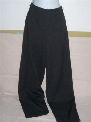LEE Riveted Black Flat Front Pants Trousers 12 EUC