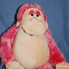 Plush Pink GORILLA Animated Shakes & Screams EUC