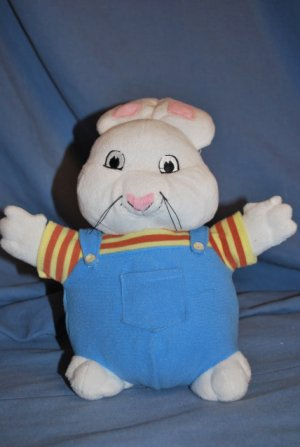 Max & Ruby Plush Bunny DOLL Toy MAX Bunny Rabbit EUC