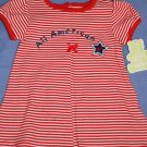 NEW CARTER'S All American Girl Dress Size 3-6M NWT