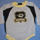 Adidas UNIVERSITY OF MISSOURI Onsie Size18 Months EUC