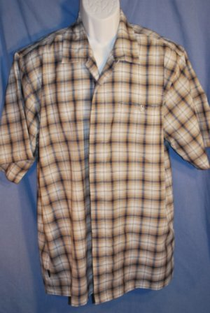 BILLABONG Mens Shirts Blue Plaid Size XL LNC