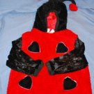 Little LADYBUG Costume 1PC Toddler Size 3T/4T EUC