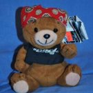 "NEW 1997 HARLEY DAVIDSON ~6"" Plush ROAMER BEar G86006"