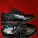 Boys SONAMA LIFESTYLE BLACK Dress Shoes Size 1M EUC