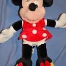 "HTF Disneyland Plush MINNIE MOUSE 16"" Talking Plush"