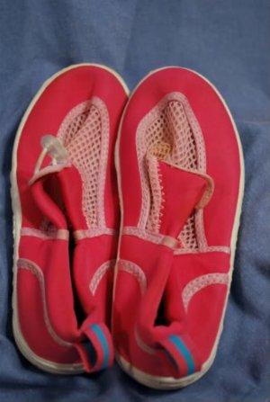 SPEEDO Girls  Surf Sand Water Shoes PINK Size XL EUC