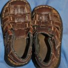 BEAVER CREEK Boys BROWN Sandals Toddler Size 6.5 EUC