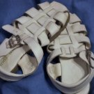 STRIDE RITE Girls White Leather SANDALS Size 11M