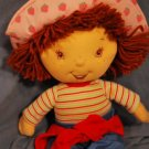 "LARGE Talking STRAWBERRY SHORTCAKE DOLL ~17"" EUC"