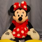 "GIANT Plush CLASSIC MINNIE MOUSE 32"" Plush DISNEY EUC"