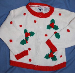Ralph Lauren & Hartstrings 2 Piece Christmas Holiday Outfit Size Girls 4/5 EUC