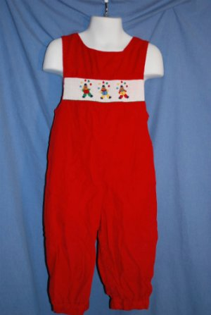 House of Hatten Incs SMOCKED Holiday Christmas Birthday Outfit Boys Size 4T