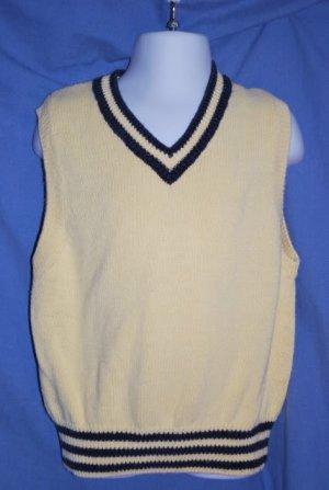 Children's Place Yellow Dressy Sweater Vest 4T