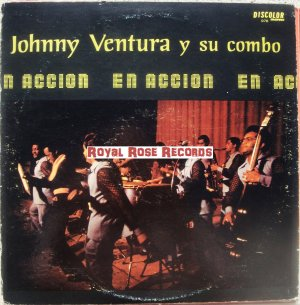 Johnny Ventura - En Accion (Discolor)
