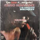 Mario Hernandez Y Su Conjunto Borinquen - Con Salsa Si, Me Gusta (Velvet)
