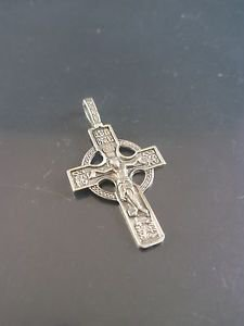 Solid Sterling Silver 925 Vintage Cross Crucifix