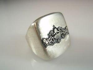 ezi zino Jewelry Designer In God we trust United States motto Signet  ring