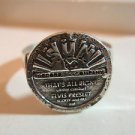 Elvis Sun Record Thats All Right Jewelry Tcb Silver Sterling 925 Ring Handmade