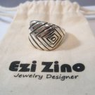 Prism Solid sterling silver ring 925 by ezi zino jewelry designer from set rings