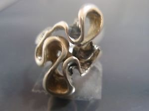 Vintage Infinity Infinity Symbol Infinite Power Endless Love Ring Solid Sterling