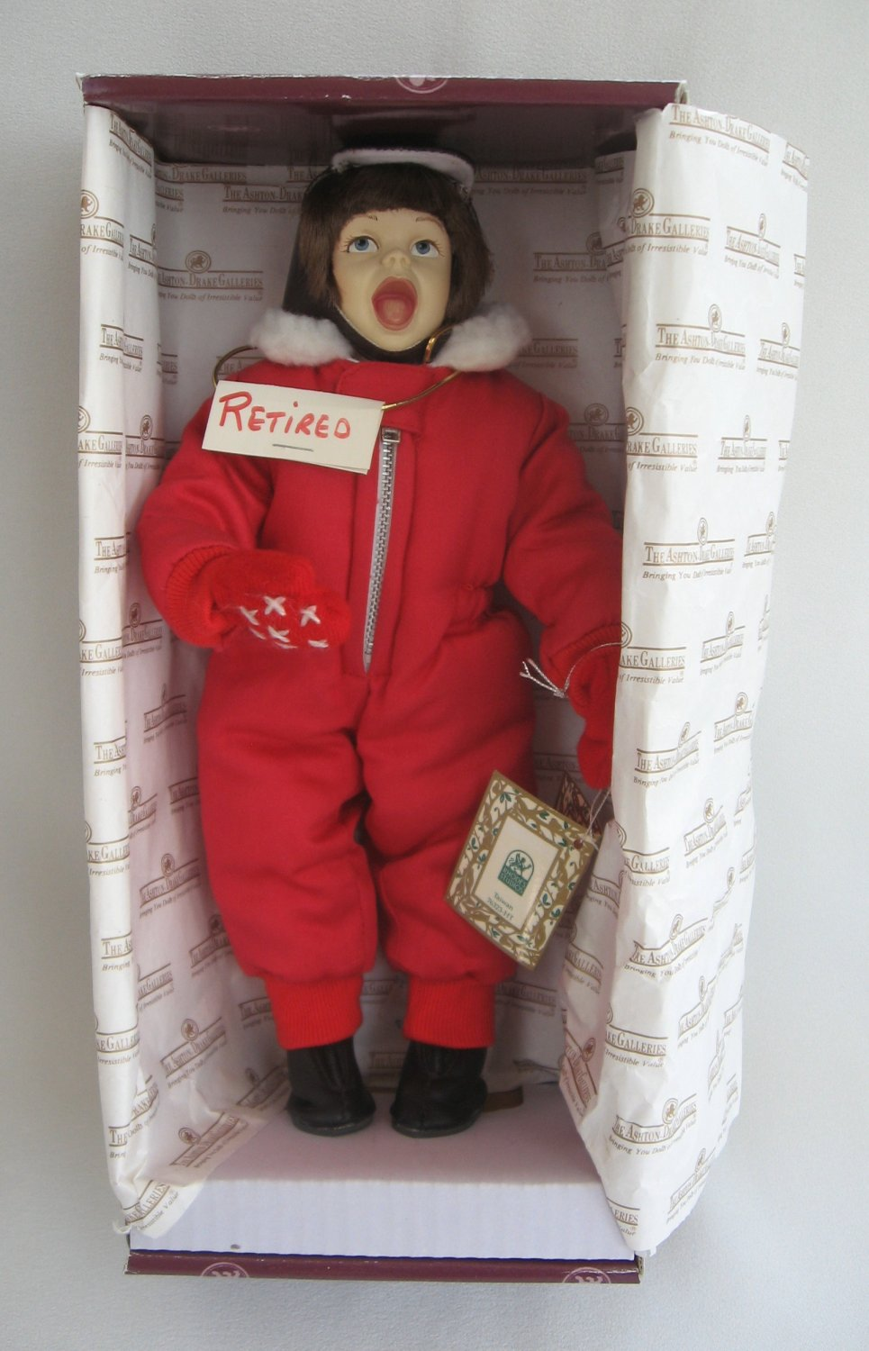 Scotty Merry Christmas Grandma Doll Norman Rockwell 1992 Limited Edition