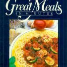 Great Meals in Minutes Pasta Menus Cookbook