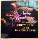 Andre Kostelanetz Plays The World's Most Beautiful Music LP 1985 Sealed