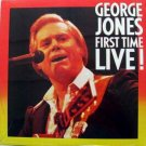 George Jones - First Time Live! LP – Epic 1985 Sealed