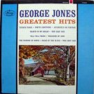 George Jones - Greatest Hits LP – Mercury Records