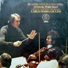 Itzhak Perlman - Brahms Violin Concerto LP – Angel Stereo 1977 Sealed
