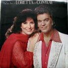 Loretta Lynn & Conway Twitty – The Very Best Of LP – MCA 1979 Sealed