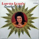 Loretta Lynn's Greatest Hits LP – MCA Records Sealed