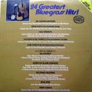 24 Greatest Bluegrass Hits! - CMH Bluegrass Classics LP 1978 - 2-Record Set Sealed