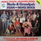 Merle Travis & Grandpa Jones – Farm & Home Hour LP – CMH Records 1985 2-Record Set Sealed
