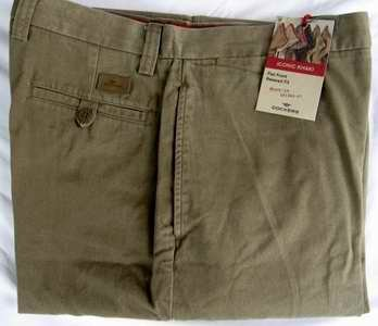 Dockers Iconic Khaki Pants Relaxed Fit Men�s 36x30 NWT