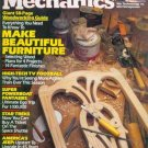 Popular Mechanics Magazine November 1985 - Make Beautiful Furniture