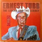 Ernest Tubb – The Legend & The Legacy LP – TeeVee Records 1979 Signed