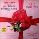 Firestone Presents Your Favorite Christmas Carols Volume 5 LP 1965 Stereo