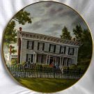 """First White House Of the Confederacy"" GORHAM Southern Landmark Series Plate – Limited Edition"