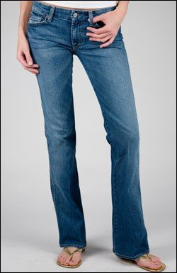 """7 FOR ALL MANKIND JEANS """"A"""" POCKET IN NAM"""