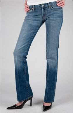 7 FOR ALL MANKIND  BOOTCUT STRETCH JEAN IN MNE