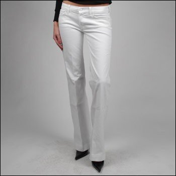 7 FOR ALL MANKIND DOJO JEAN IN WHITE
