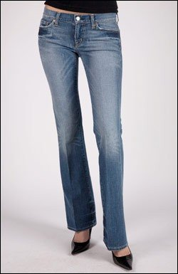 CITIZENS OF HUMANITY JEANS DITSY INGRID FLARE IN BERLIN